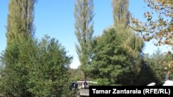 რუსეთის სამხედროების ბლოკ-პოსტი ხურჩა-ნაბაკევის ადმინისტრაციულ საზღვარზე