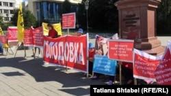 Голодовка обманутых дольщиков в Новосибирске