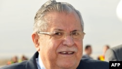 Iraqi President Jalal Talabani (file photo)