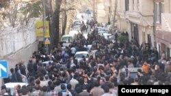Тегерандағы дәруіштер наразылығы. Наурыз, 2014 жыл.