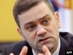 Šef pregovaračkog tima Srbije Borko Stefanović. 24. februar 2011.
