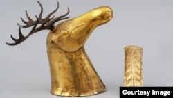 Голова оленя из Кургана в Адыгее. Пятый век до н.э.