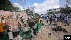 Mogadishu, Somali, 15 qershor 2017.