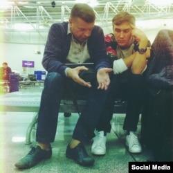 Сергей Нурмамед и Леонид Парфенов