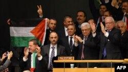 محمود عباس در سازمان ملل پس از رایگیری