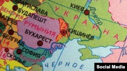 Беларускі атляс для 8–9клясаў. «Геаграфія мацерыкоў ікраін»
