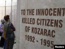 Spomenik žrtvama Kozarca, 2011.
