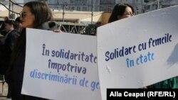 """la marșul """"Solidaritate între femei"""""""