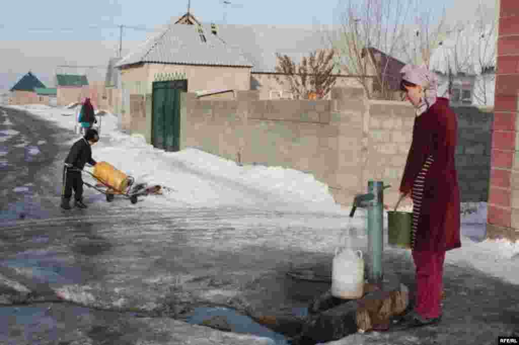 Бишкекские новостройки зимой #7