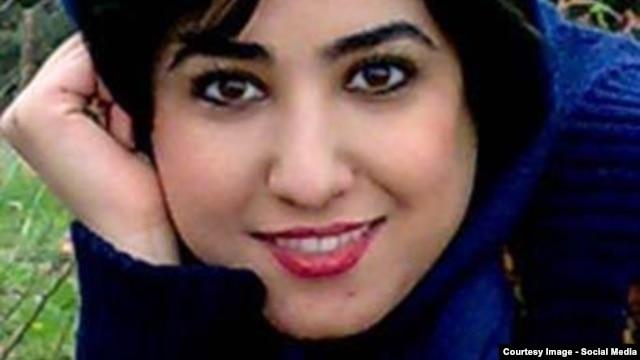 Atena Farghadani (file photo)