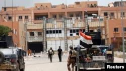 Iračka vojska u centru Faludže (20. jun 2016.)