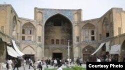 عکس از بازار اصفهان.