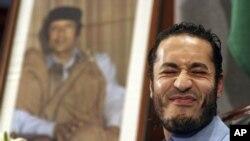 Al Sadi Gadafi, biri i liderit të rrëzuar