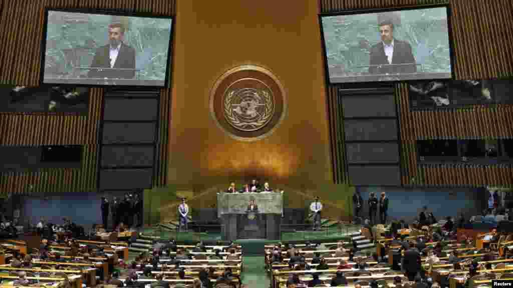 سخنرانی محمود احمدینژاد در نشست «حاکمیت قانون» در مقر سازمان ملل- نیویورک، ۲ مهرماه ۱۳۹۱