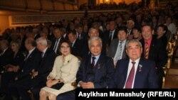 Форумға жиналғандар. Алматы, 20 қазан 2018 жыл