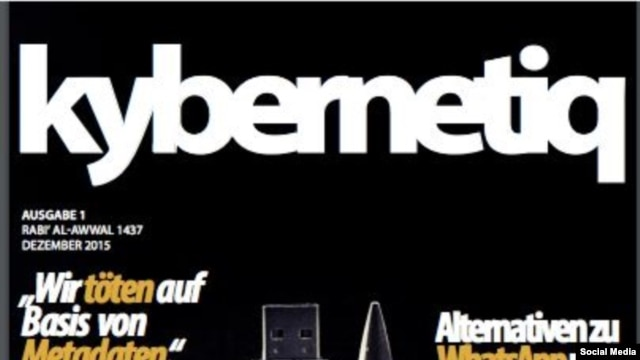 The cover of the German-language online magazine Kybernetiq