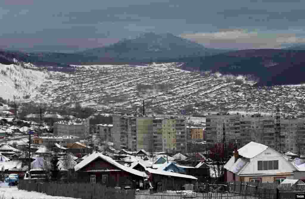 Zlatoust in December 2007