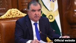 Presiden Tajik Emomali Rahmon (file foto)