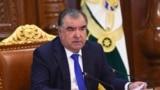 Президент Таджикистана Эмомали Рахмон. 16 апреля 2020 года.
