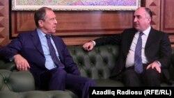 Ռուսաստանի և Ադրբեջանի արտգործնախարարներ Սերգեյ Լավրովն ու Էլմար Մամեդյարովը , արխիվ