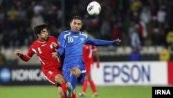 بازی ایران و ازبکستان در ورزشگاه آزادی