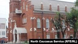 Бывшее здание госфилармонии во Владикавказе после ремонта (архивное фото)