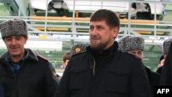 """Рамзан Кадыров на открытии """"очередного завода"""""""