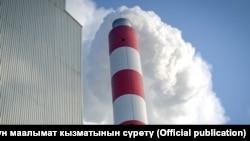 У теплоэлектроцентрали (ТЭЦ). Бишкек, 27 января 2018 года.