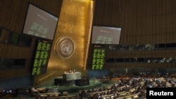 September 25 - October 1: UN General Assembly holds annual debate on global issues.