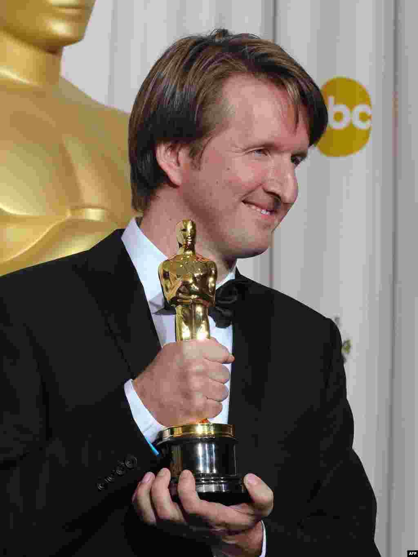 تام هوپر،برنده جایزه بهترین کارگردانی فیلم «سخنرانی پادشاه» (The King's Speech)،