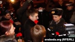 Акция оппозции в Минске в День воли