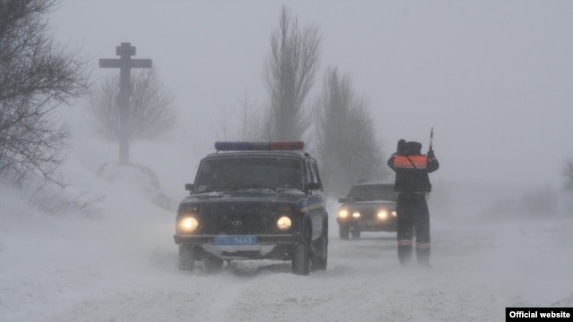 Ukraine is currently in the grip of a cold spell that has killed dozens of people.