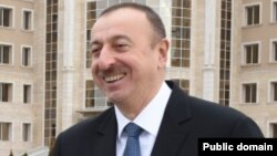 Әзербайжан президенті Ильхам Әлиев.