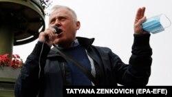 Мікола Статкевіч, травень 2020 году