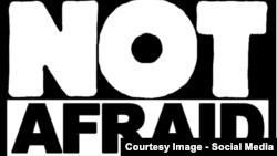 """""""Nu ne e frică"""", unei petiții împotriva terorismului."""