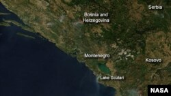 Geografski položaj zemalja Zapadnog Balkana