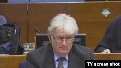 Radovan Karadžić u sudnici 16. veljače 2012.
