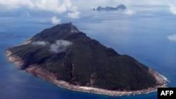 Fotografi arkivi i një prej ishujve i njohur si Senkaku mbi të cilin Japonia dhe Kina kanë pretendime territoriale, 15 shtator 2010