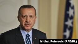 Turski premijer u Sarajevu 14. septembra 2012.