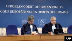 Pamje nga seancat e Gjykatës për të Drejtat e Njeriut, Strasburg