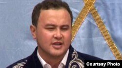 Рүстем Қайыртайұлы, айтыскер ақын. Қарауыл ауылы, Шығыс Қазақстан облысы, 15 қыркүйек 2011 жыл.