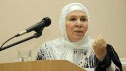 Tatarstan -- Fauziya Bayramova. Public figure, historian, writer.