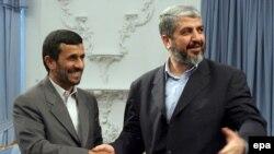 دیدار خالد مشعل با محمود احمدینژاد در بهار ۸۷