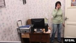 Главната уредничка на Чартер 97 во Белорусија, Наталија Радзина.