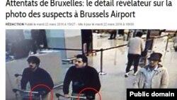 Osumnjičeni napadači na aerodrom u Briselu