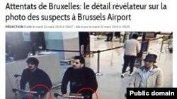 Osumnjičeni za napad u Bruxellesu