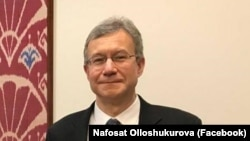 Посол Соединенных Штатов Америки в Узбекистане Дэниел Розенблюм.