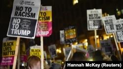 Protestat kundër Donald Trumpit për president.