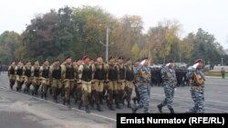 Оштогу милициянын парады. 1-ноябрь, 2013-жыл.