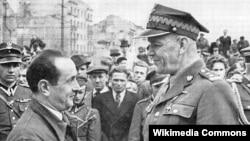 Зыгмунт Берлинг, командующий 1-й армией подконтрольного Красной Армии Войска Польского